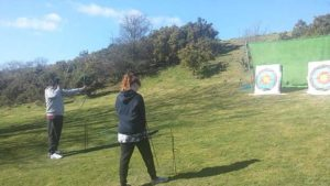 archery team activity