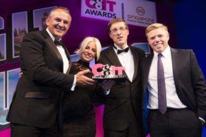 CIT Awards 2017 Winner Team Building