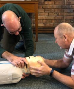 Emergency First Aid At Work Course In North Wales Male Learner