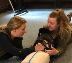 Emergency First Aid At Work Course In North Wales Airway Check Call Of The Wild